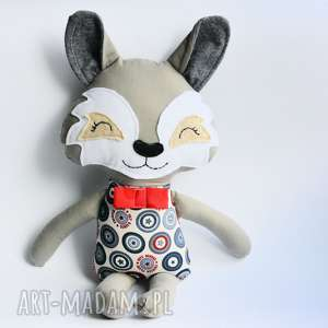 Wilk Wiktor, wilk, chłopczyk, maskotka, przytulanka, roczek, urodziny