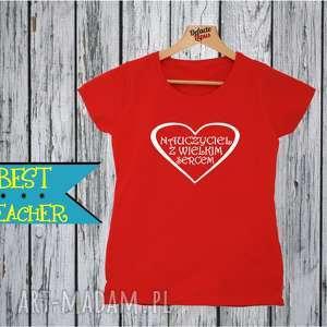 koszulka z nadrukiem dla nauczycielki, prezent na dzień edukacji, super