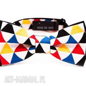mucha equilateral triangle, moda, prezent, urodziny, imieniny, krawat