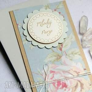 kartki kartka ślubna romantyczna, ślub, ślubna