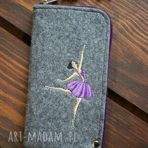 filcowe etui na telefon - baletnica, smartfon, pokrowiec, futerał, balerina