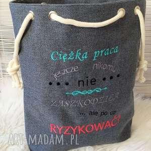 Torba worek shopperka na ramię fabryqaprzytulanek torba, torebka