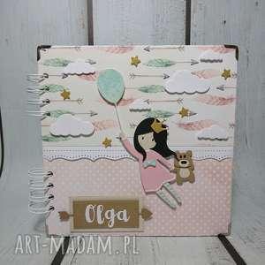 Album - W chmurach, urodziny, narodziny, chrzest, dziewczynka, balony, sesja
