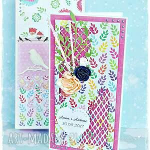 Prezent Personalizowana kartka ślubna w pudełku, kartka, pudełko, prezent, ślub