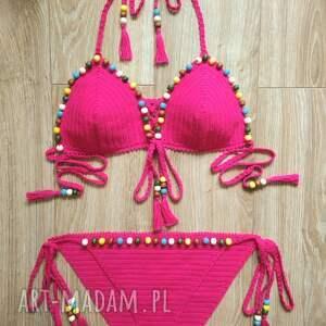 dobrzykowska strój kąpielowy rodos, crochet bikini, swimwear
