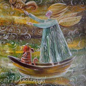 dom w pogoni za marzeniem, anioł, aniołek, kot, kotka, unikalny