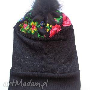 czapka Folk Design Aneta Larysa Knap, góralskie, folk