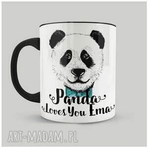 oryginalny prezent, fajnymotyw kubek panda loves you, panda, personalizacja