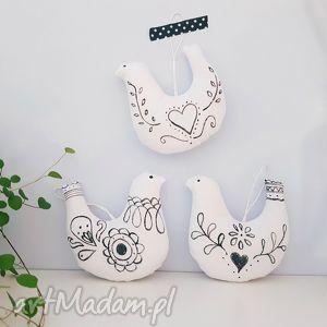 handmade dekoracje skandynawskie ptaszki