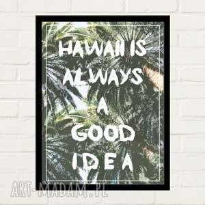 hand-made plakaty hawaii idea plakat 30x40