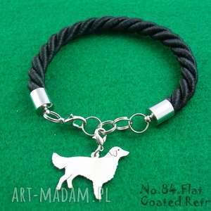 Bransoletka flat coated retriever pies nr.84, bransoletka, pies, rasy-psów