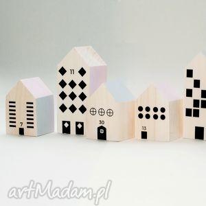 zabawki drewniane klocki miasteczko xs, klocki, domki, drewno, miasteczko