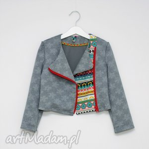 ręczne wykonanie ubranka bawełniana ramoneska
