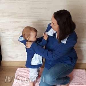 komplet dla mamy i dziecka/ bluzy, komplet, mama syn, bawełna, córka