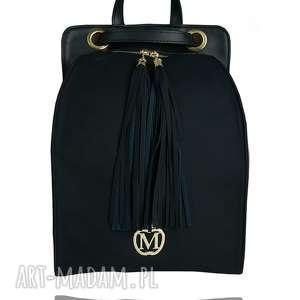 manzana plecak/torebka wygodny styl- czarny, plecak, torebka, modny, wygodny, miejski