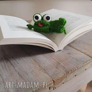 zakładka do książki żabka, książki, pomysł na prezent