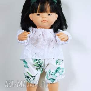 madika design zestaw ubranek dla lalek typu paola reina, miniland, minikane