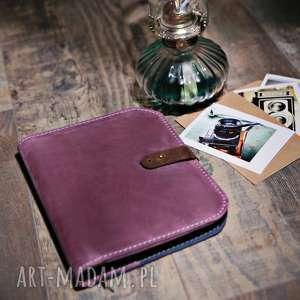 idealny prezent dla niej i niego, skórzany notatnik, kalendzr, notes, etui