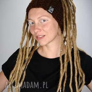 opaski opaska dreadlove mono 20, opaska, dredy, dready, czapka, czapa, reggae