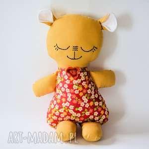 Miś Misioszek Lusia 40 cm, miś, śpioszek, dziecko, dziewczynka, maskotka, przytulanka