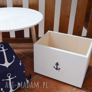 Pudełko do przechowywania Nautical, nautical, marynistyczny, pudełko, przedpokój