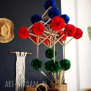 dekoracja pająk, wisząca, motyw roślinny, gwiazda