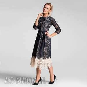 Sukienka tina 3 4 total midi matylda sukienki livia clue koronka
