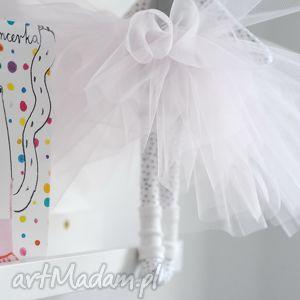 handmade zabawki tiulowa spódniczka baletnicy