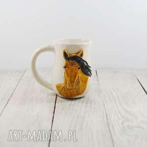 ceramika kubek ceramiczny koń, dla miłośników koni, prezent, pod choinkę, dziecka