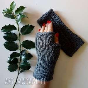 rękawiczki mitenki, rękawiczki, alpaka, nadrutach, jesienne