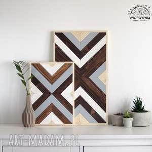 drewniane panele dekoracyjne - komplet, mozaika, dekoracja, ścienny, panel, drewniana