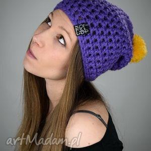 hellove 44 - czapka, czapa, pompn, kolorowa, cieńka, zima