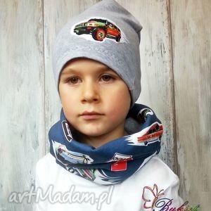 ręcznie zrobione czapki czapka komin dla chłopca