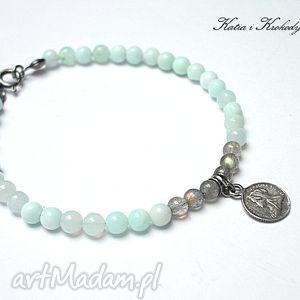 romantic blue silver vol 3, opal, srebro, labradoryty, moneta