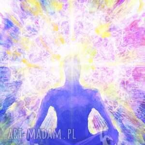 Prezent Obraz energetyzujący - Medytacja 2 płótno, ezoteryczny, obraz, ezoteryczny