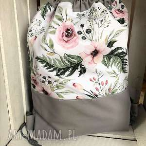 Worek plecak róże, worek, plecak, spacery, szkoły, przedszkola, tutu