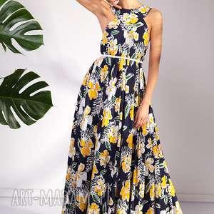 pawel kuzik sukienka sanaa, wakacje, urlop, moda, kwiaty, wiskozowa, letnia