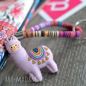 brelok do kluczy boho lama etnu, kluczy, etniczny, styl boho