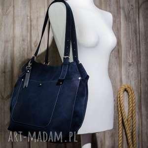Ręcznie robiona skórzana torebka, torebki skórzane, , torba, worek, skóra-naturalna