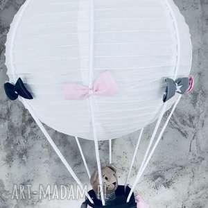 pokoik dziecka lampa lamado latający miś, lampa, latający, latająca, balon, miś