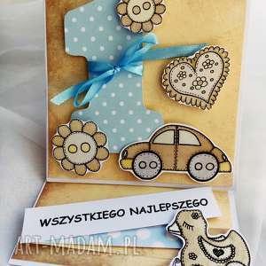 handmade scrapbooking kartki kartka urodzinowa na roczek