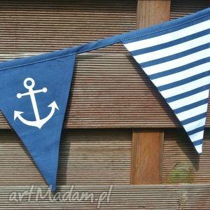 Girlanda marynarska, dekoracja marynistyczna , girlanda,