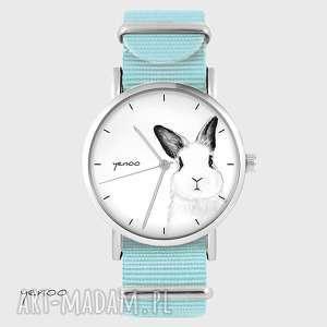 zegarki zegarek, bransoletka - królik niebieski, nato