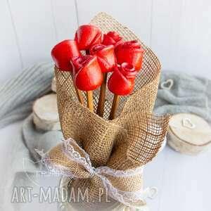 dekoracje przepiękny bukiet róż wyjątkowy podarek na każdą okazję, dla niej