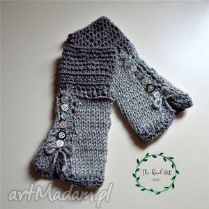 handmade rękawiczki rękawiczki mitenki - zamówienie