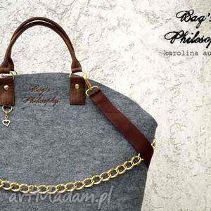 ręczne wykonanie torebki shopper bag glamour;-)