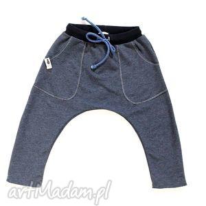święta, spodnie grafitowe baggy, spodnie, alladynki, grafit, sznurek, uniseks