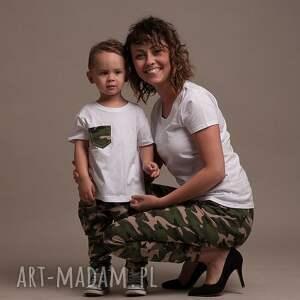 komplet spodni moro, spodnie, bojówki, baggy, mamasyn, ubrania