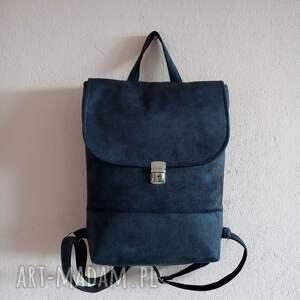 plecak velvet, na laptopa, damski plecak, do pracy, mini