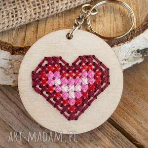 brelok - serce pełne miłości, brelok, do kluczy, torebki